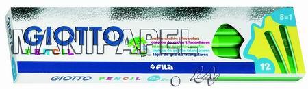 LÁPIZ TRIANGULAR DE GRAFITO NEGRO (12 unidades) FIL102005 B 12