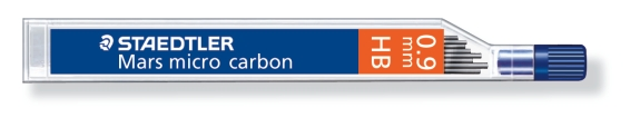 MINA MICRO CARBÓN DE 0.3 0.5 0.7 Y 0.9 mm (12 unidades) ST25009HB HB GRUESO DE MINA 0.9 mm