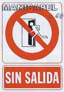 PLACAS DE SEÑALIZACIÓN NORMALIZADA FLUORESCENTE SS795A4608F Sin salida