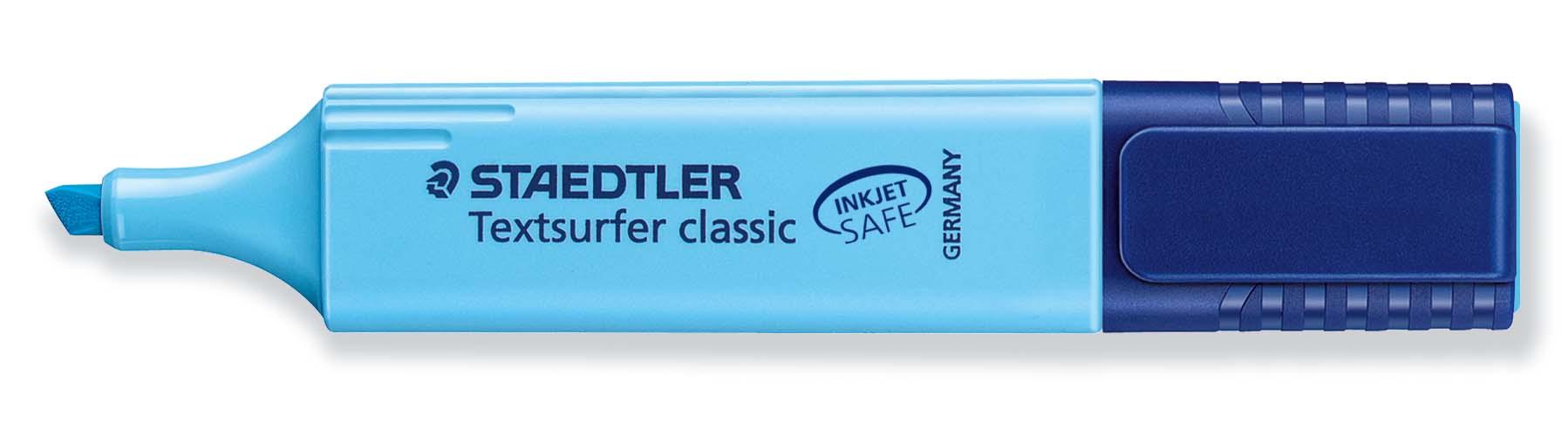 MARCADOR TEXTSURFER CLASSIC ST3643 Azul