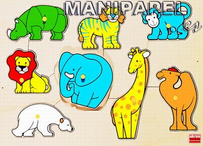 ENCAJES DE MADERA (2+) ak50047 2+ El zoo