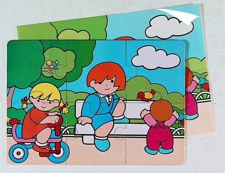 PUZZLES (3+) 6 PIEZAS ak50773 11 Pintando