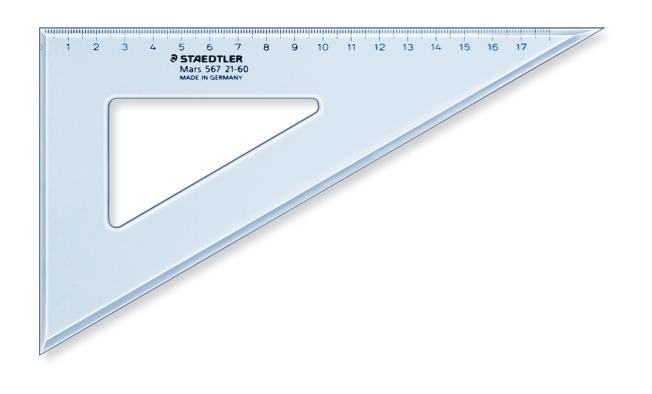 CARTABONES DE PLÁSTICO TRANSPARENTE AZUL ST567-26-60 26 cm