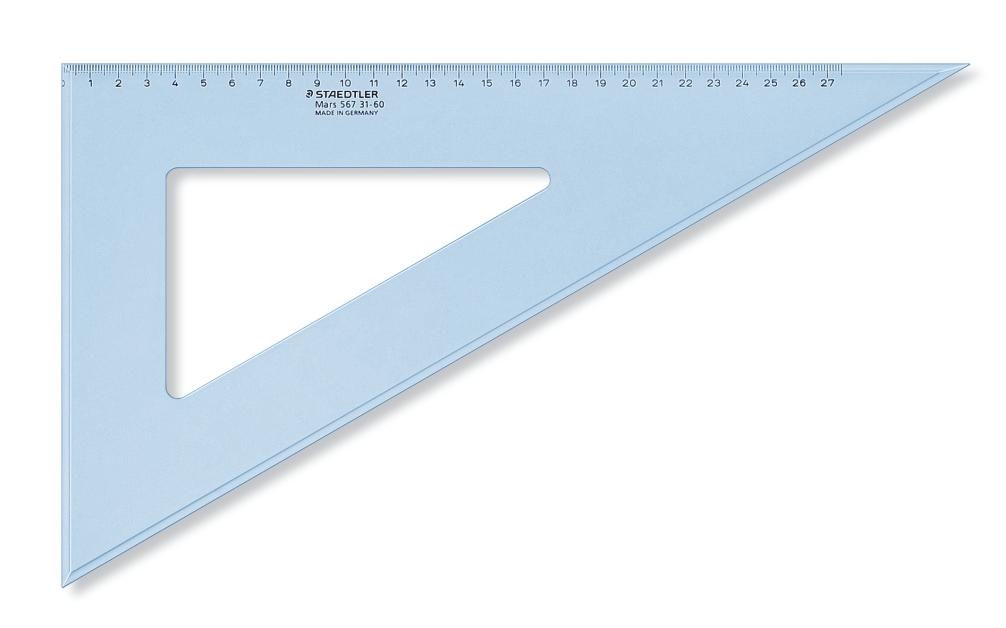 CARTABONES DE PLÁSTICO TRANSPARENTE AZUL ST567-31-60 31 cm