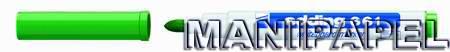 ROTULADOR Mod. 661 PIZARRA BLANCA ED6614 Verde 1