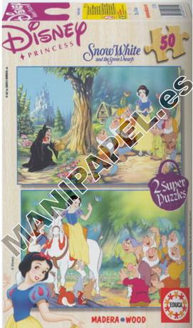 SUPER PUZZLES DISNEY 50 PIEZAS ED-11985 Blancanieves