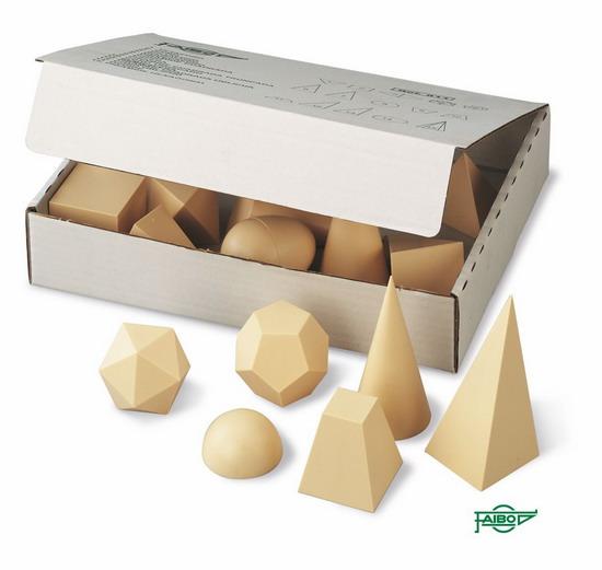 CUERPOS GEOMÉTRICOS FA811 Material: Plástico - Caja: Cartón 15 figuras