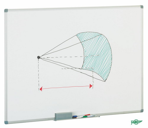 PIZARRAS BLANCAS PARA ROTULADORES MARCO DE ALUMINIO 11M-2 Melaminada 60X90 cm