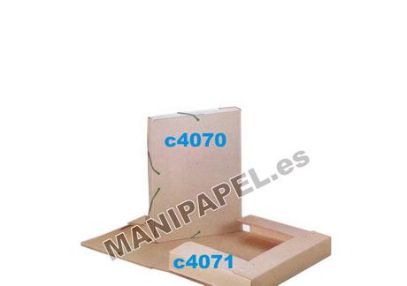 CARPETAS CARTÓN RECICLADO CARCHI385RE 50x345x245 mm Carpeta proyectos 5 cm
