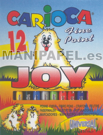 ROTULADOR CARIOCA JOY car40614 12
