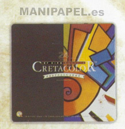 BARRITAS COLORES PASTEL CRETA48024 24 Colores