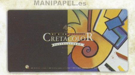 BARRITAS COLORES PASTEL CRETA7548 48 Colores