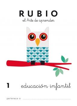 CUADERNO RUBIO PREESCOLAR DE 1 A 10 PR1 3 a 5 años 84-85109-40-6 preescolar1