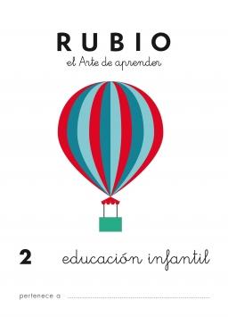 CUADERNO RUBIO PREESCOLAR DE 1 A 10 PR2 3 a 5 años 84-85109-41-4 preescolar2
