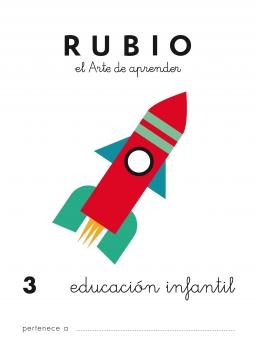 CUADERNO RUBIO PREESCOLAR DE 1 A 10 PR3 3 a 5 años 84-85109-42-2 preescolar3