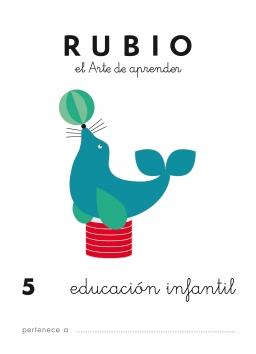 CUADERNO RUBIO PREESCOLAR DE 1 A 10 PR5 3 a 5 años 84-85109-44-9 preescolar5