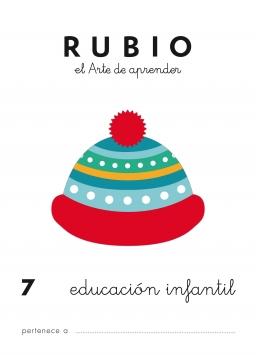 CUADERNO RUBIO PREESCOLAR DE 1 A 10 PR7 3 a 5 años 84-85109-46-5 preescolar7