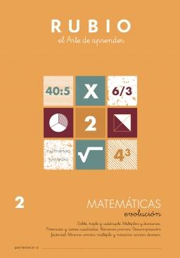 MATEMATICAS EVOLUCION DE EV1 A EV6 MEV3 9 a 11 años 84-85109-82-1 matematicasevolucionev3