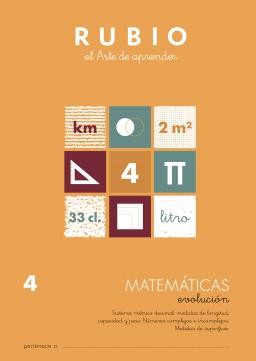 MATEMATICAS EVOLUCION DE EV1 A EV6 MEV5 9 a 11 años 84-85109-84-8 matematicasevolucionev5