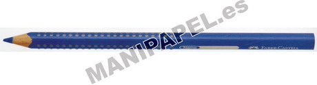 LÁPICES COLOR JUMBO GRIP ACUARELABLES (12 unidades) FABER110912 12