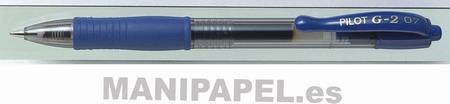 BOLÍGRAFO G-2 TINTA GEL (12 unidades) G2A Azul 12