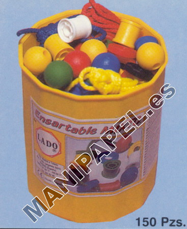 ENSARTABLES MIXTOS LADO433 Mixto 150 PIEZAS