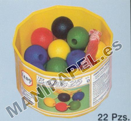 ENSARTABLES BOLAS LADO435 25 mm 22 PIEZAS
