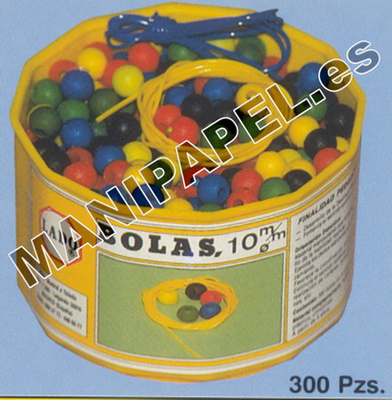 ENSARTABLES BOLAS LADO451 10 mm 300 piezas