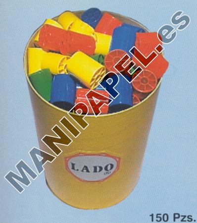 ENSARTABLES SÚPER CILINDROS LADO474 150 PIEZAS