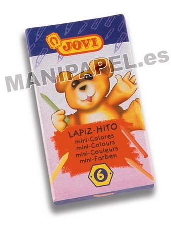 LÁPIZ - HITO J959-6 SURTIDO 6