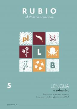 LENGUA EVOLUCION DE LEV1 A LEV6 LEV5 5 a 7 años 84-85109-92-9 lenguaevolucionlev5