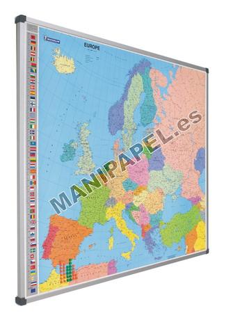 MAPAS MAGNÉTICOS 740-2 105x125 cm Europa ESCALA 1:4.300.000