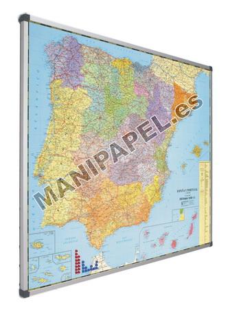 MAPAS MAGNÉTICOS 740-3 103x128 cm España ESCALA 1:1.000.000