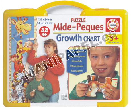 PUZZLE MAX MIDE PEQUES ED-11634