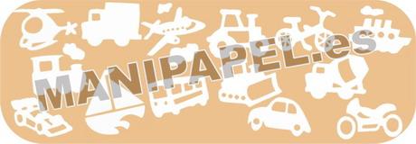 SET TAMPONES MINI-95222 14 Medios Transporte
