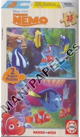 SUPER PUZZLES DISNEY 25 PIEZAS ED-12160 Nemo