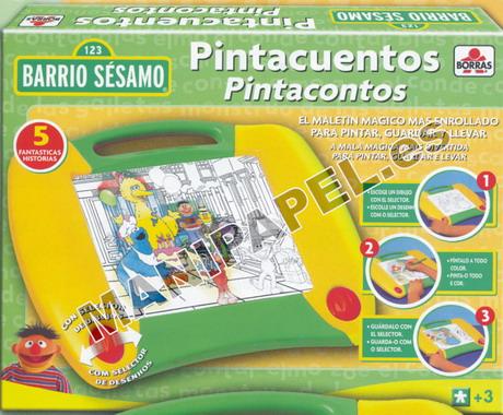 PINTACUENTOS BARRIO SÉSAMO ED-12971