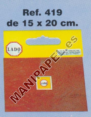 PLACAS PARA PICADO LADO-419 15 x 20 cm