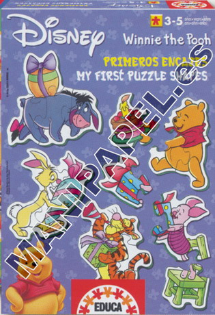 PRIMEROS ENCAJES (3+,5+) ED-12798 Winnie the pooh