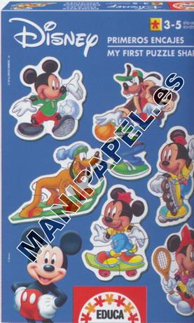 PRIMEROS ENCAJES (3+,5+) ED-3182 Mickey Mouse