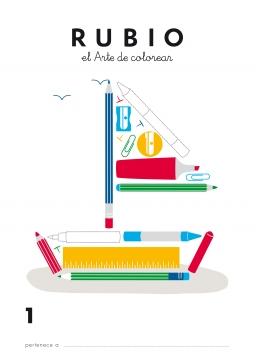 LIBRO DE COLOREAR LC1 Y LC2 LC1 84-85109-38-4 librodecolorearlc1