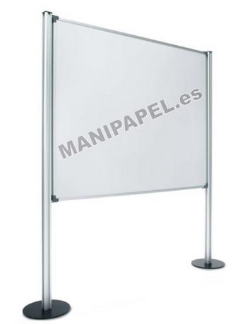 MAMPARAS MODULARES BÁSICAS SIS-750-MG Melamina Gris 120x150