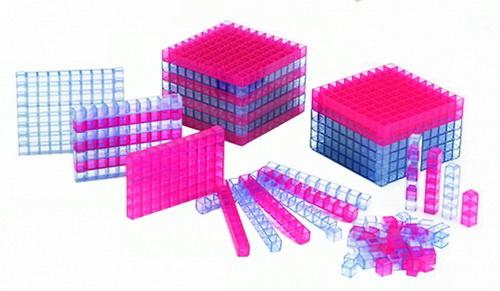 BASE 10 3D TRANSLÚCIDO