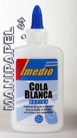 COLA BLANCA RÁPIDA 100 ml