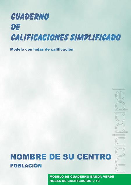 CUADERNO DE PROFESOR SIMPLIFICADO EN GRAPA