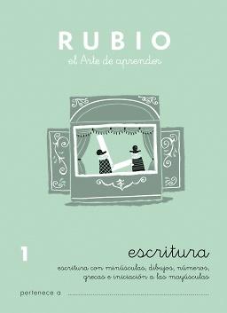 CUADERNOS RUBIO ESCRITURA DE 1 A 13