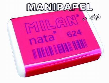 GOMA DE BORRAR MILAN 624 NATA