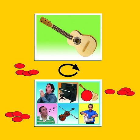 JUEGO INSTRUMENTOS MUSICALES