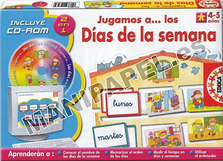 JUEGOS MULTIMEDIA DÍAS DE LA SEMANA