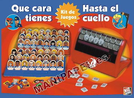 KIT QUE CARA TIENES + HASTA EL CUELLO